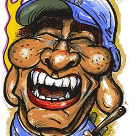 イラストレーターとしても活躍中の似顔絵が描いた野球選手の似顔絵
