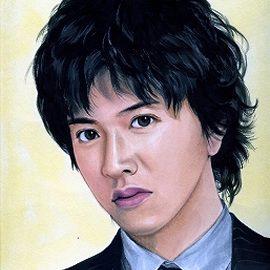 関東を代表する似顔絵師が描いた人気男性タレントの似顔絵