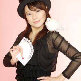 東京など関東地方を中心に活躍している女性マジシャン