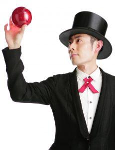大道芸(ジャグリング)のパフォーマー