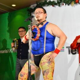 タンバリン芸人・ゴンゾー