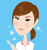 女性似顔絵師のパフォーマー