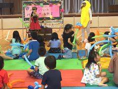 学童クラブのイベントとして開催したバルーン教室の様子