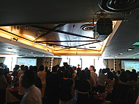 食に関するある団体主催で開催された記念日イベントの様子