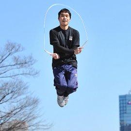 複数のTV番組への出演経験もある縄跳びパフォーマー