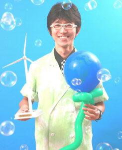 科学実験パフォーマンス、サイエンスショー、環境パフォーマンスのパフォーマー