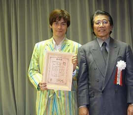 「エコピープルアワード優秀賞」を受賞したECOマジシャン